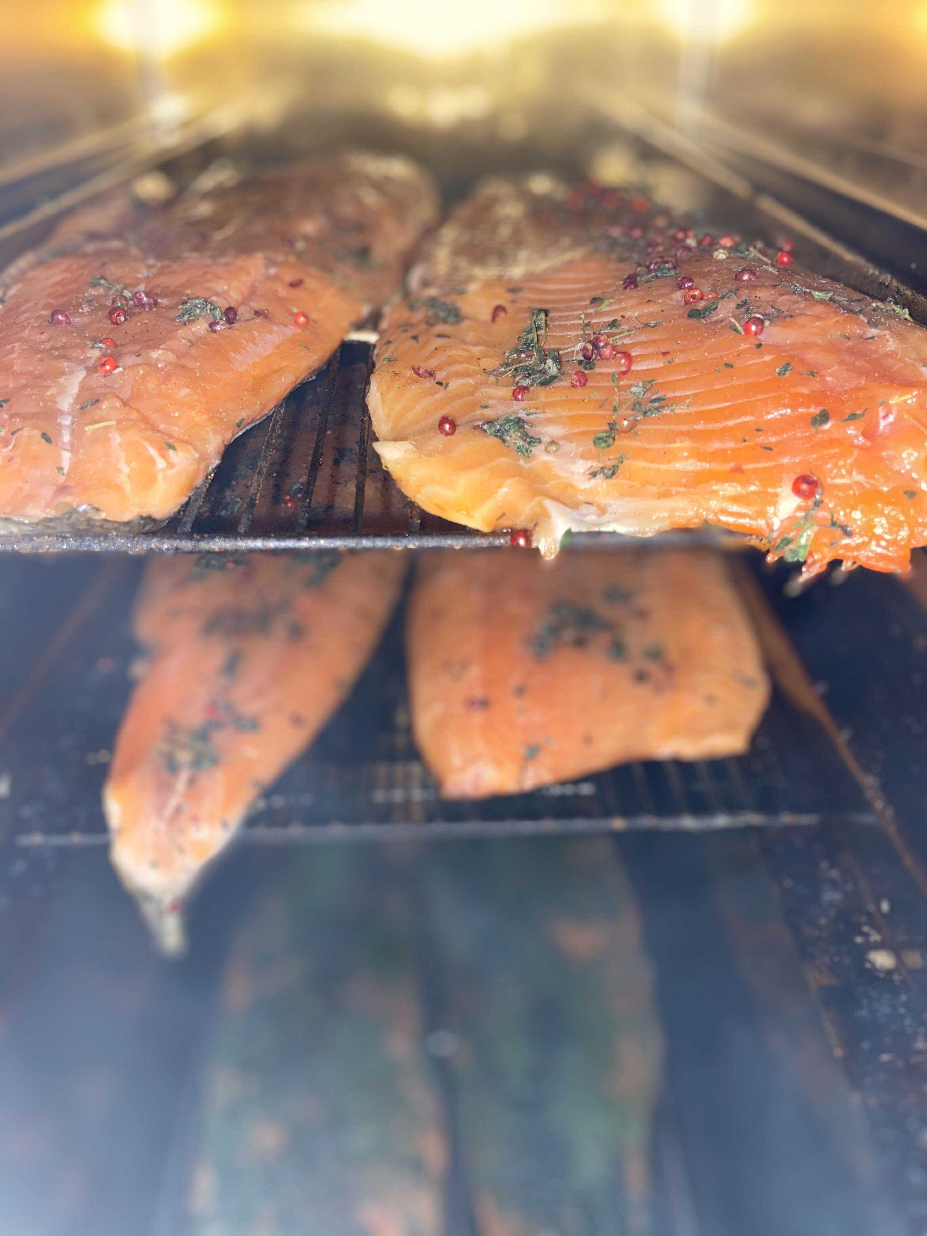 L'Assiette de Saumon fumé